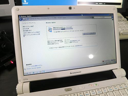 XPサポート終了でwindows7をクリーンインストール